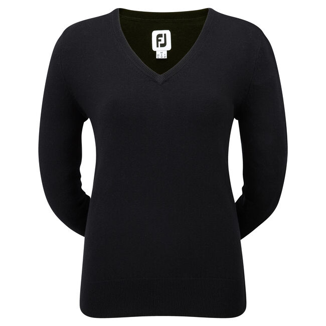 Lambswool V-Neck Pullover Women-Previous Season Style
