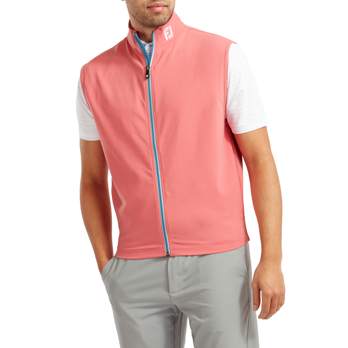 Full Zip Knit Vest