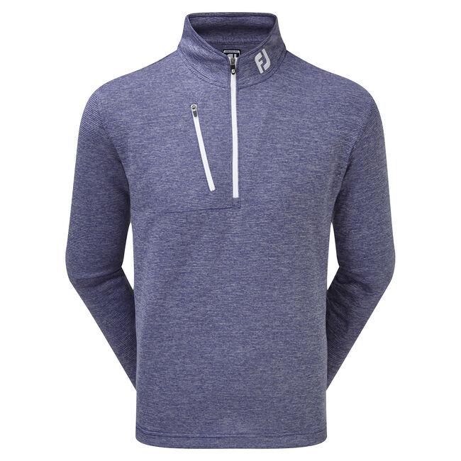 Melierter Nadelsteifen Chill-Out Pullover