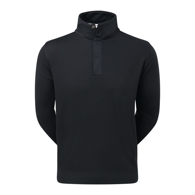 Spun Poly Buttoned Pullover-Vorjahresmodell