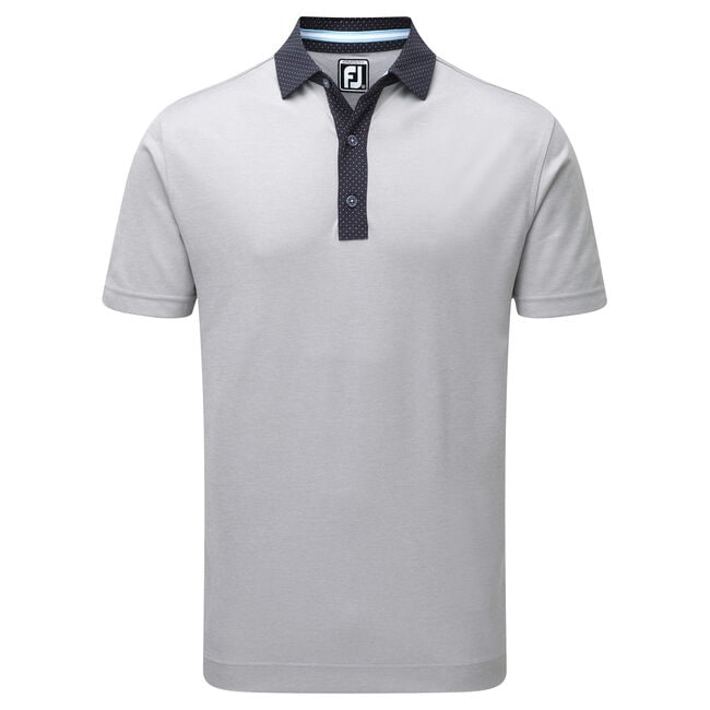 Smooth Pique with Pin Dot Print Placket-Vorjahresmodell