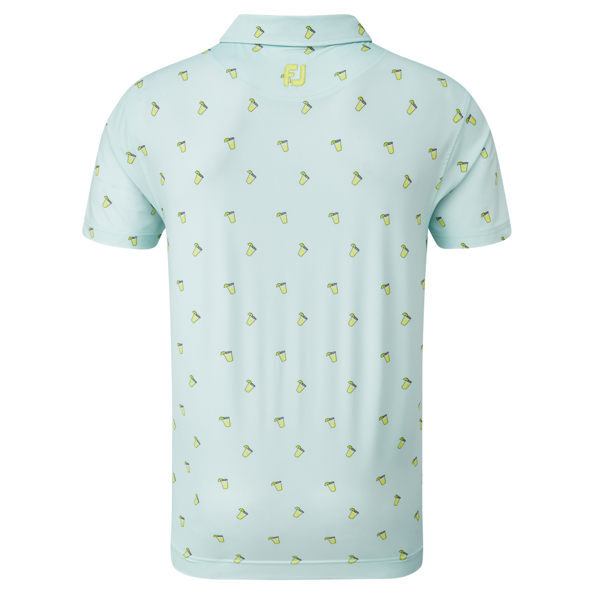 Jersey mit Cocktailprint