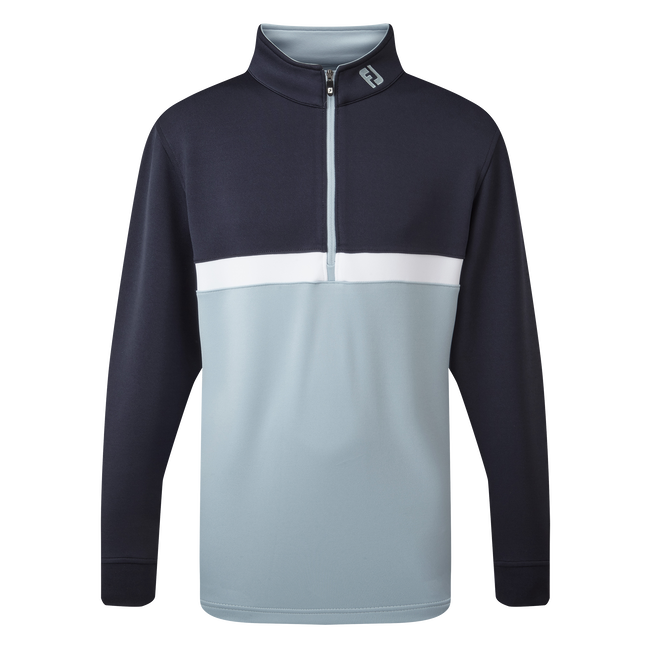 Quarter Zip Colour Blocked Chill-Out