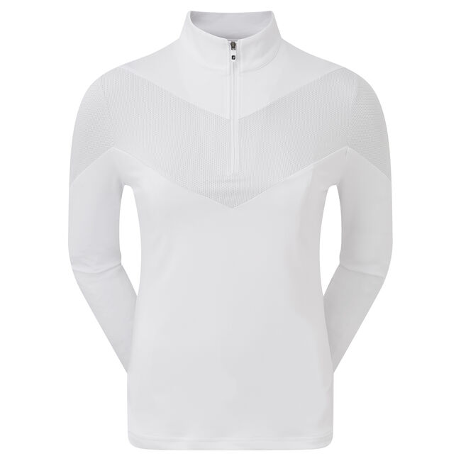 Engineered Jersey Half Zip Dam