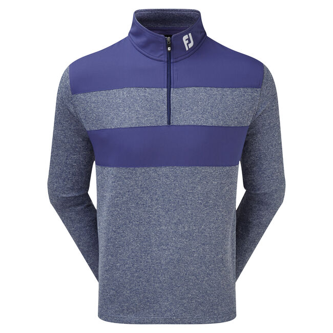 Chill-Out Pullover mit Farbblock-Muster
