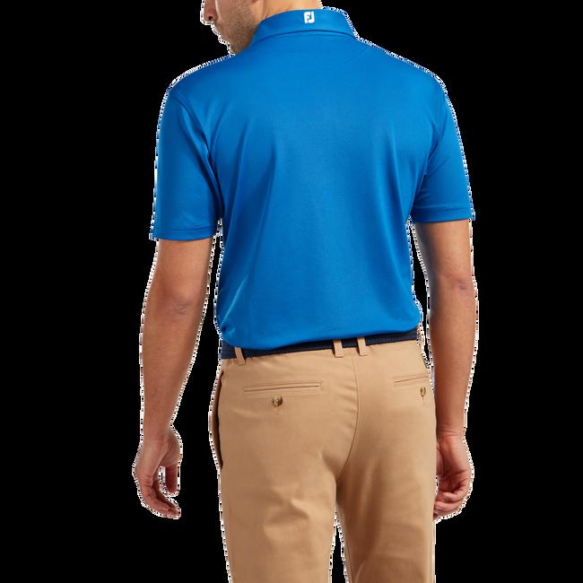 Stretch-Pikée, einfarbig