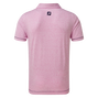 Space-Dye-Jersey mit Ziernaht