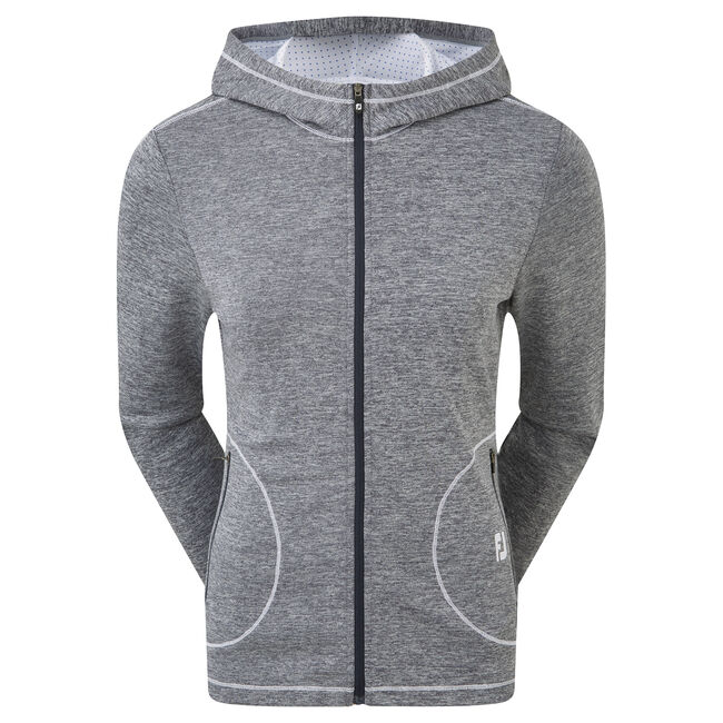 Double Layer Jersey Hoodie Women-Previous Season Style
