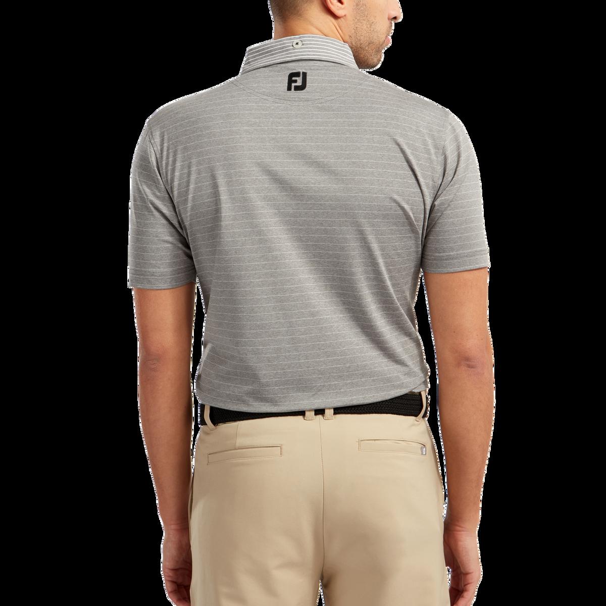 Jersey mit feinen Streifen