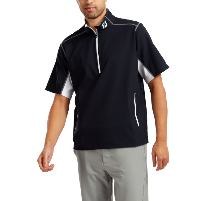 Windshirt mit 1/2 Reißverschluss