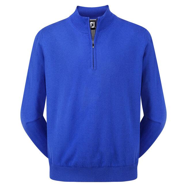 Lambswool Half Zip Pullover-Förra året Modell