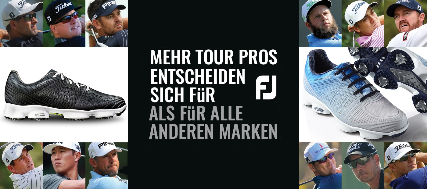 More Tour Pros choose FJ than all other brands combined!