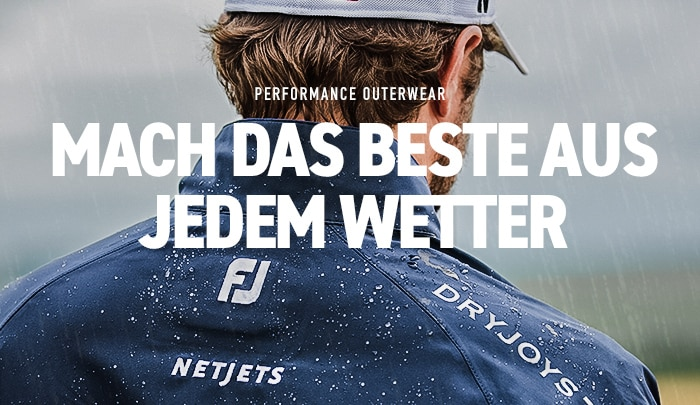 FootJoy Performance Outerwear Embrace The Elements 2018