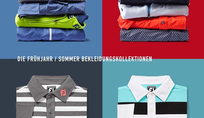 FootJoy die Frühjahr / Sommer Bekleidungskollektionen
